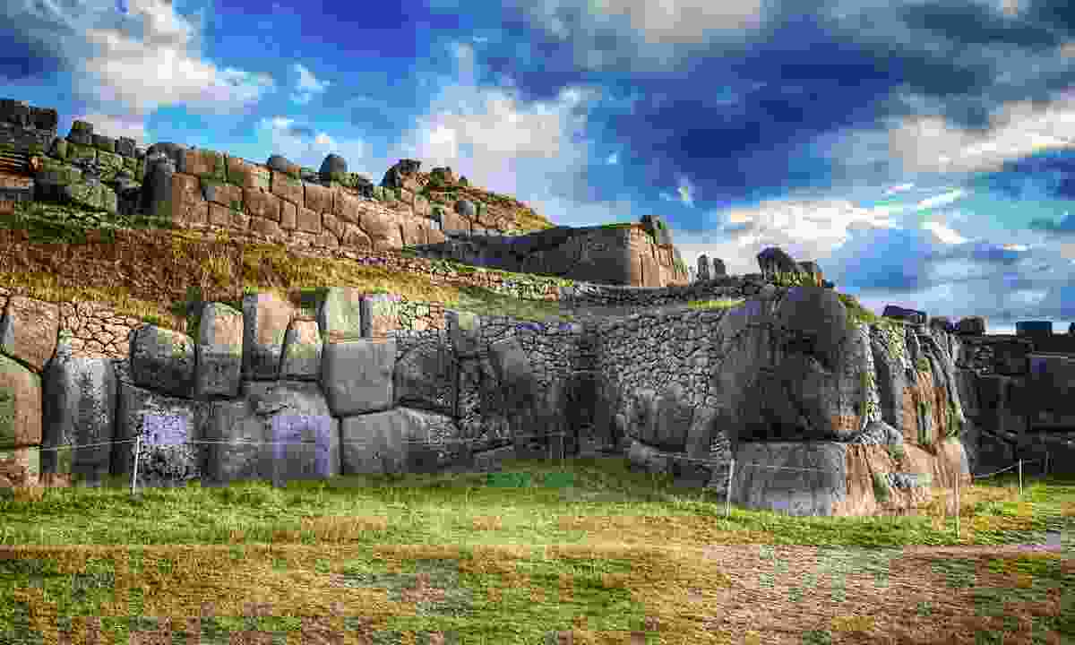 The Sacsayhuaman ancient stones outside of Cusco (Shutterstock)