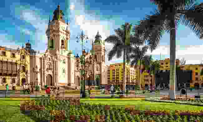 Lima's colonial-era main square is among the most dazzling in Latin America (Shutterstock)