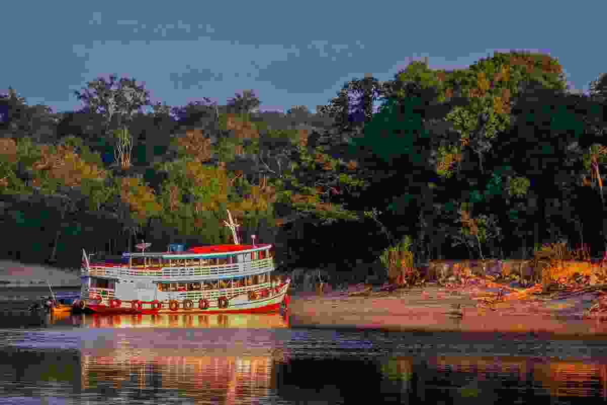 The riverboat to Manaus (Shutterstock)