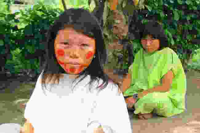 Ashaninka in Amazonian Peru, threatened with loss of land (Graeme Green)