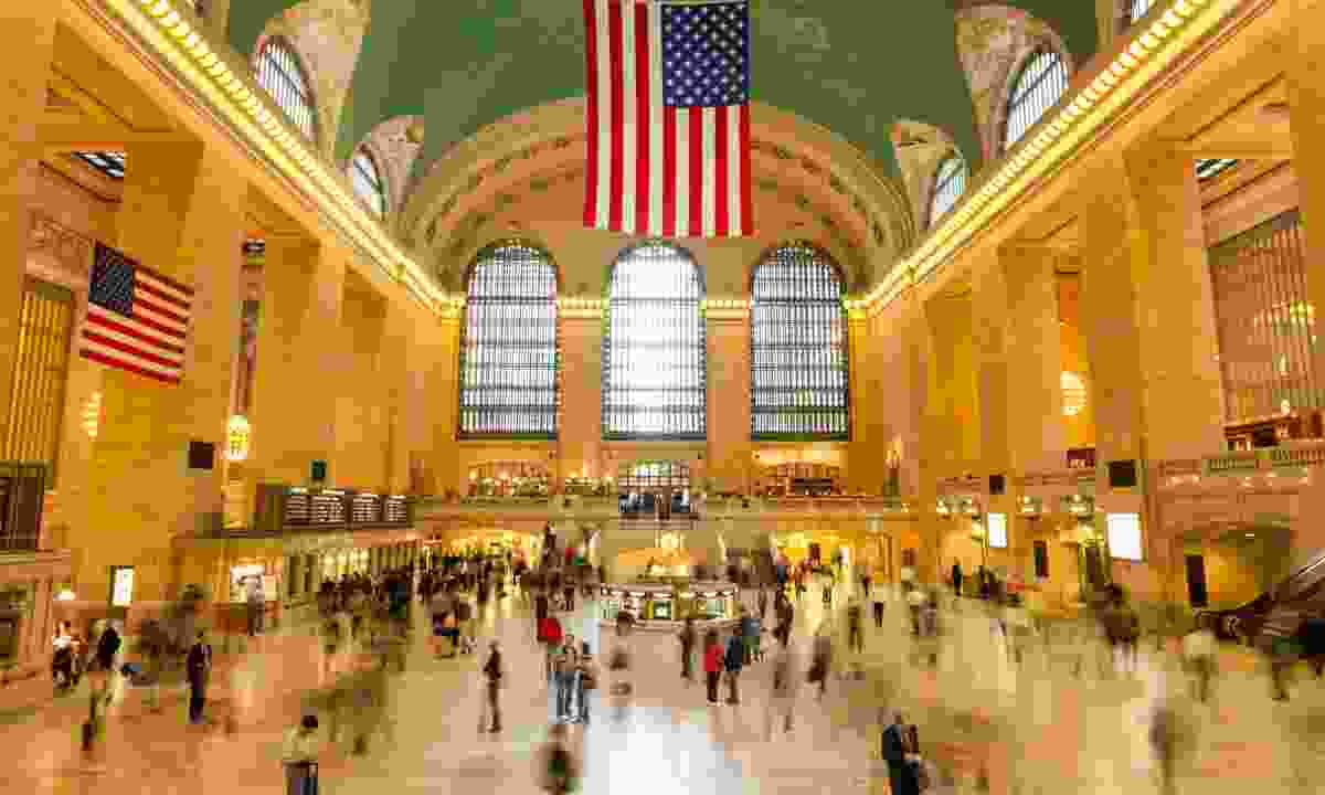The main atrium at Grand Central Terminal (Dreamstime)