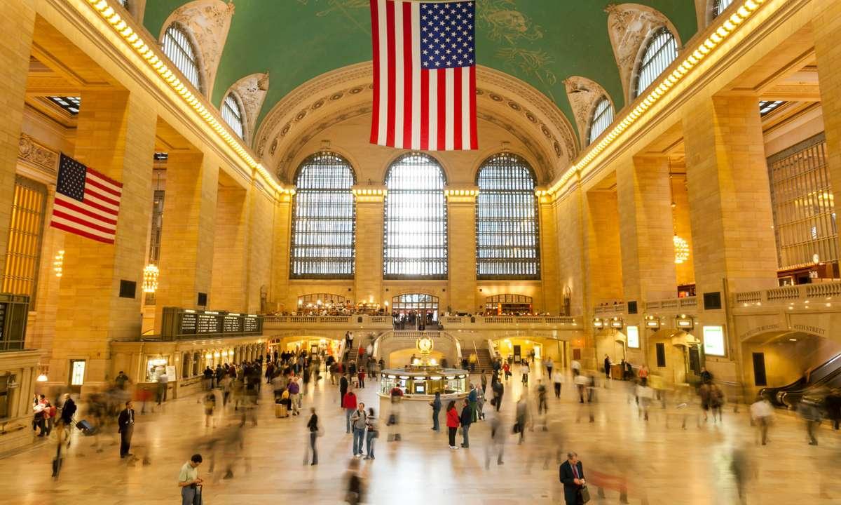 The main atrium at Grand Central Terminal (Dreamstime)