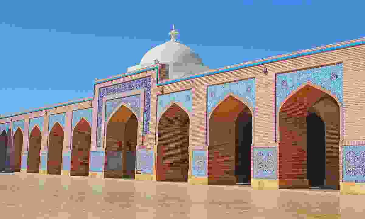 The beautiful Shah Jahan mosque (Shutterstock)