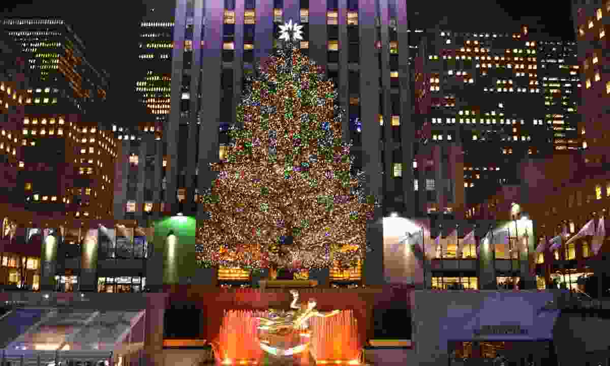 Rockefeller Christmas tree (Dreamstime)