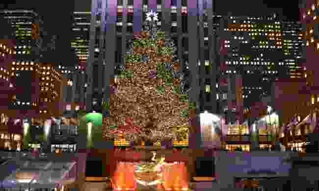 Rockefeller Christmas tree (Dreamstime)