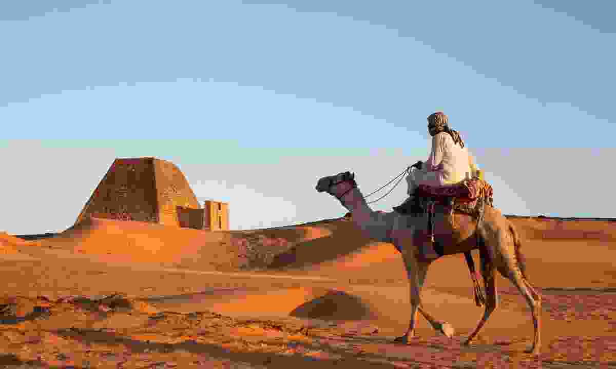 Delve into the desert to discover the pyramid tombs of the kings of Kush at Meroe, Sudan (Dreamstime)