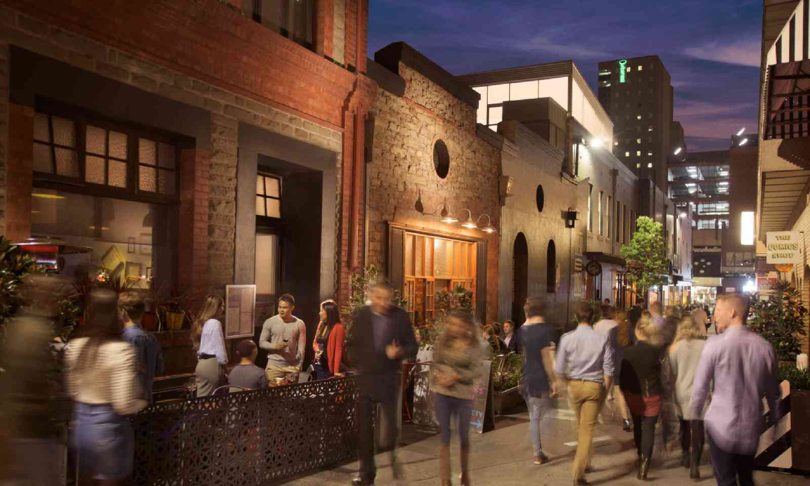Pop-up bars in Adelaide (SATC)