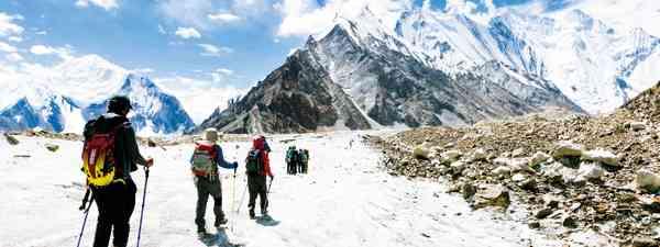 Pakistan's Baltoro Glacier (Sara Bull)