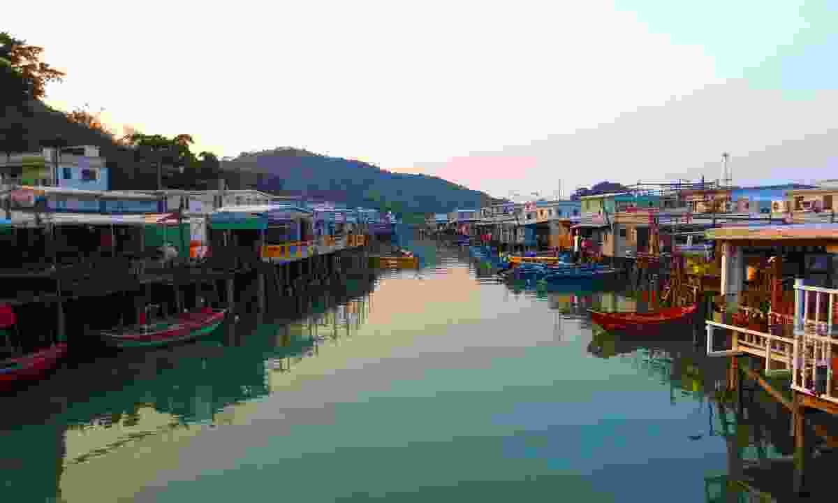 The stilted village of Tai O on Lantau Island (Hong Kong Tourism Board)