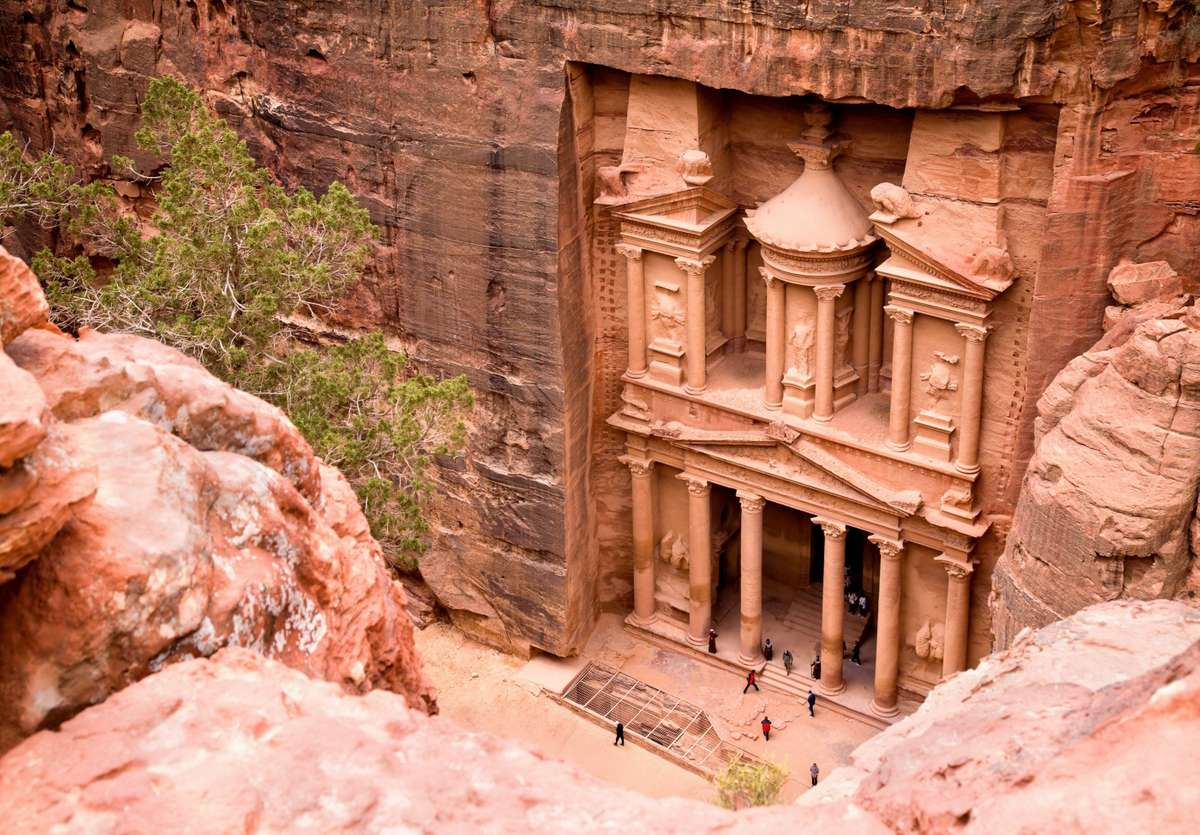 Petra's Treasury (Dreamstime)