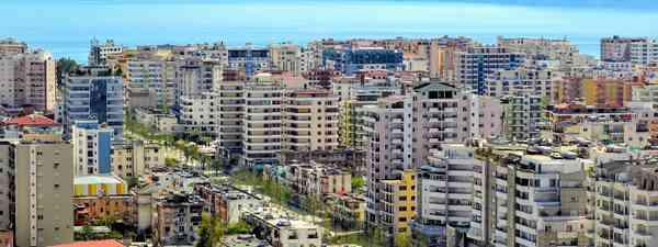 The above view of Vlorë, Albania (Shutterstock)