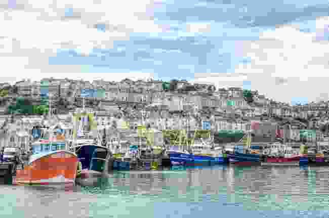 Trawlers at Brixham, Devon (Matt Austin)