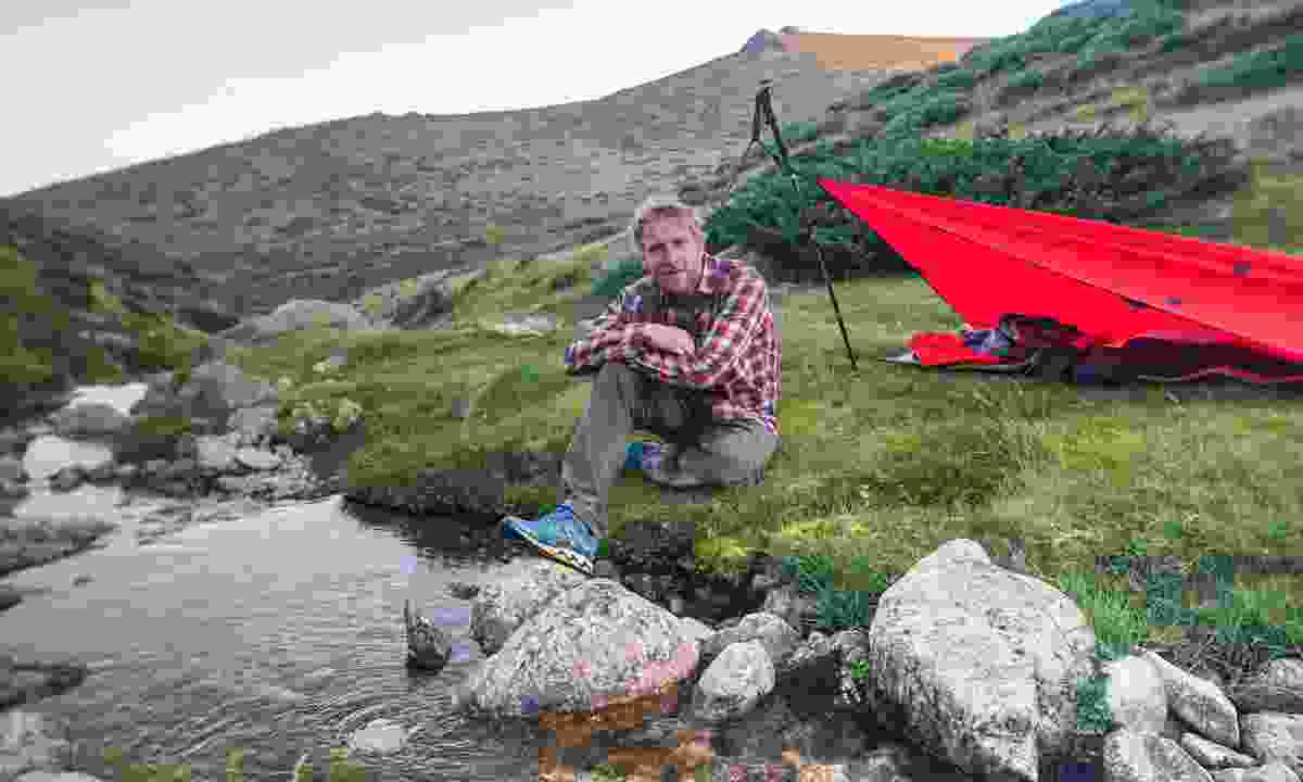 Camping in Spain (Alastair Humphreys)