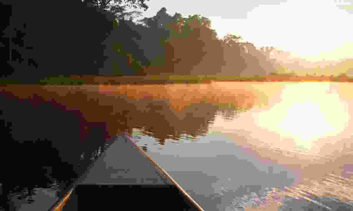 Sunrise in the Peruvian Amazon (Dreamstime)