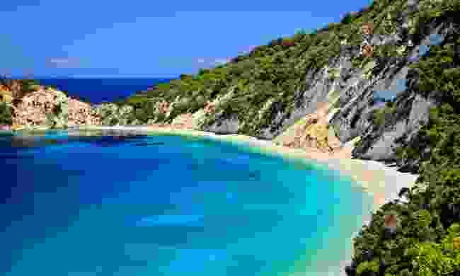 Gidaki beach on Ithaca (Shutterstock)