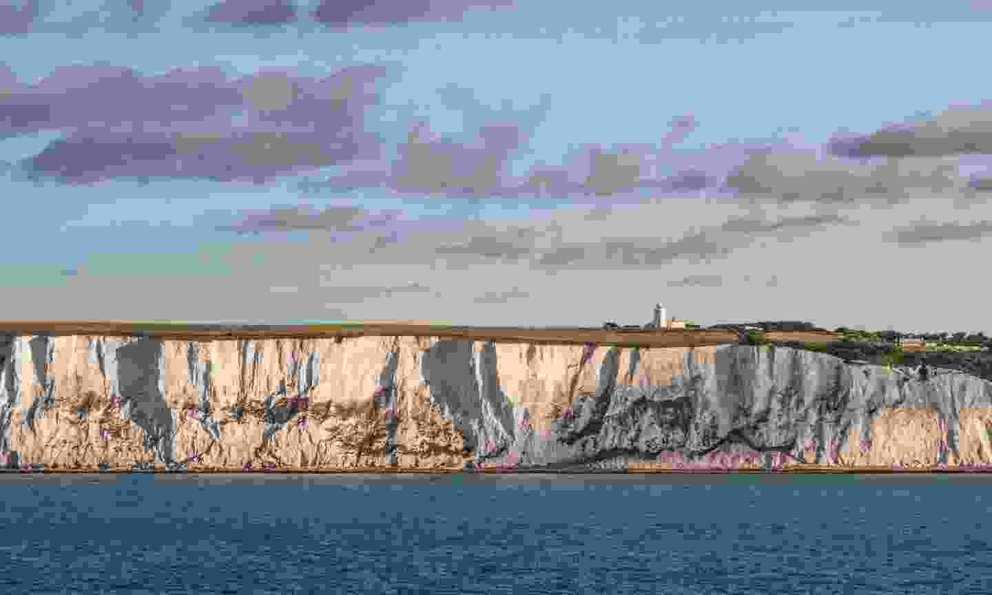 The South Foreland Lighthouse atop the White Cliffs of Dover (Shutterstock)