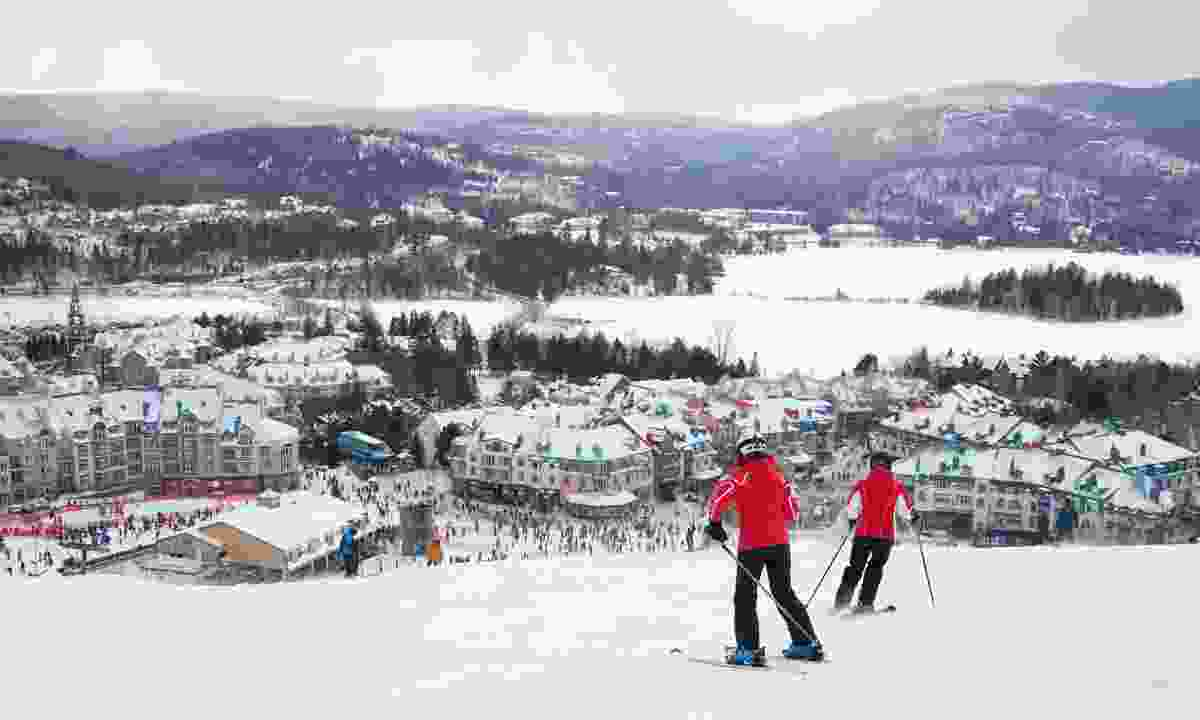 Skiing at Mont-Tremblant Ski Resort (Dreamstime)
