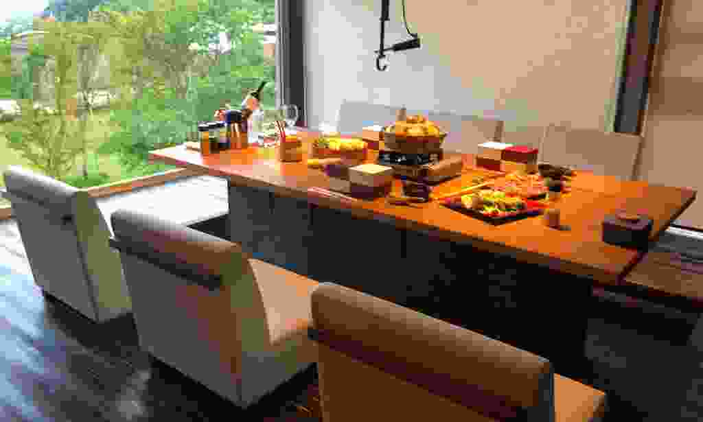 Dinner in your private dining room