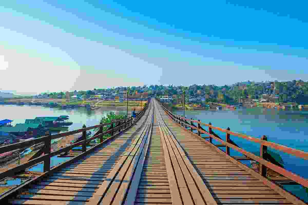 Mon Bridge over the River Kwai, Thailand (Shutterstock)