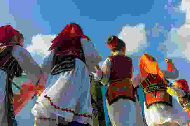 Traditional dress in Albania (Shutterstock)