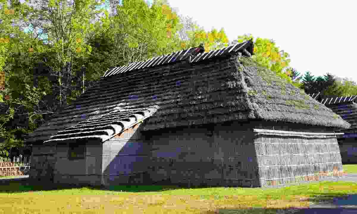 Ainu village in Hokkaido (Dreamstime)