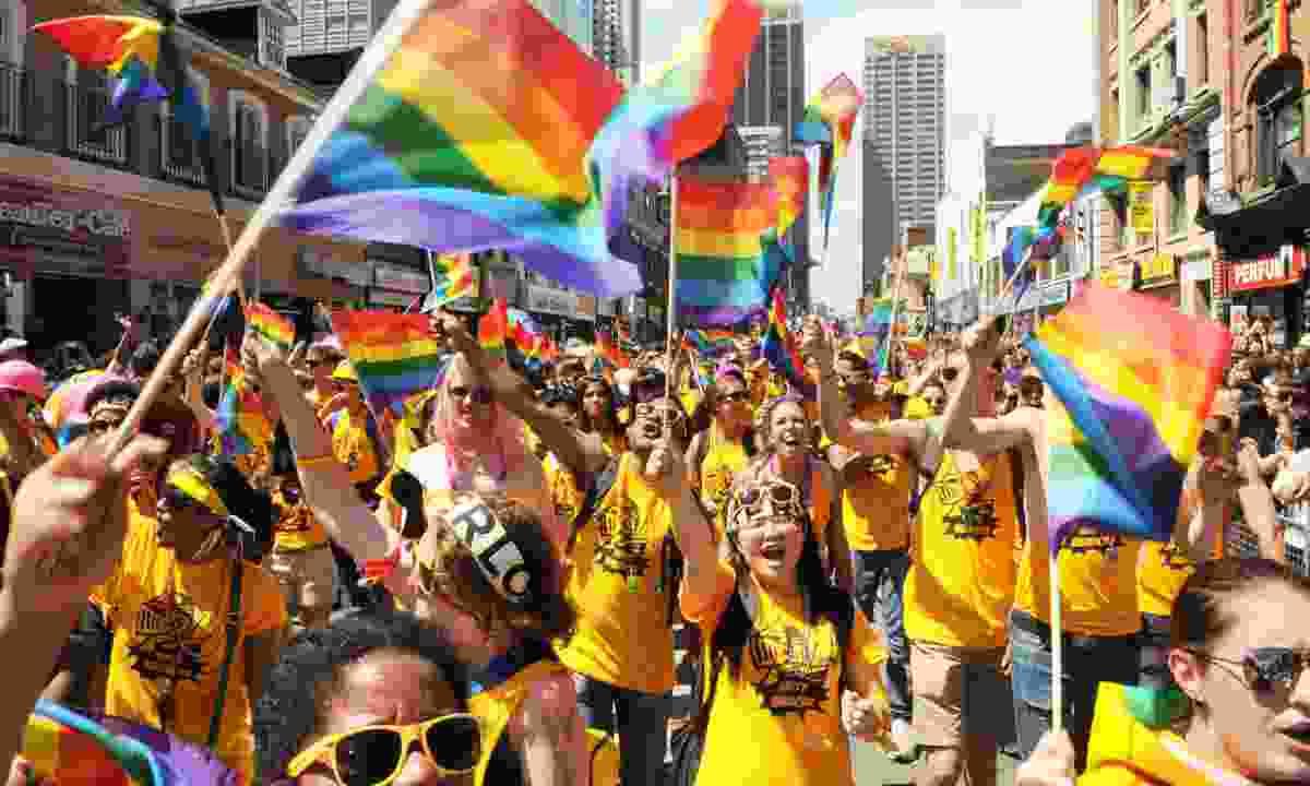 Pride festival in Toronto (Dreamstime)
