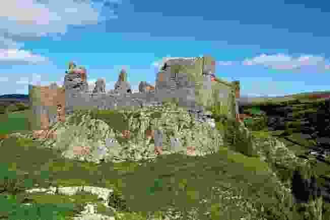 Carreg Cennen Castle, one of the most spectacular castles in the park. (Graeme Green)