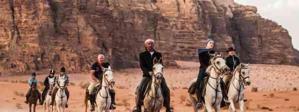 Riding through Wadi Rum (Wild Frontiers)