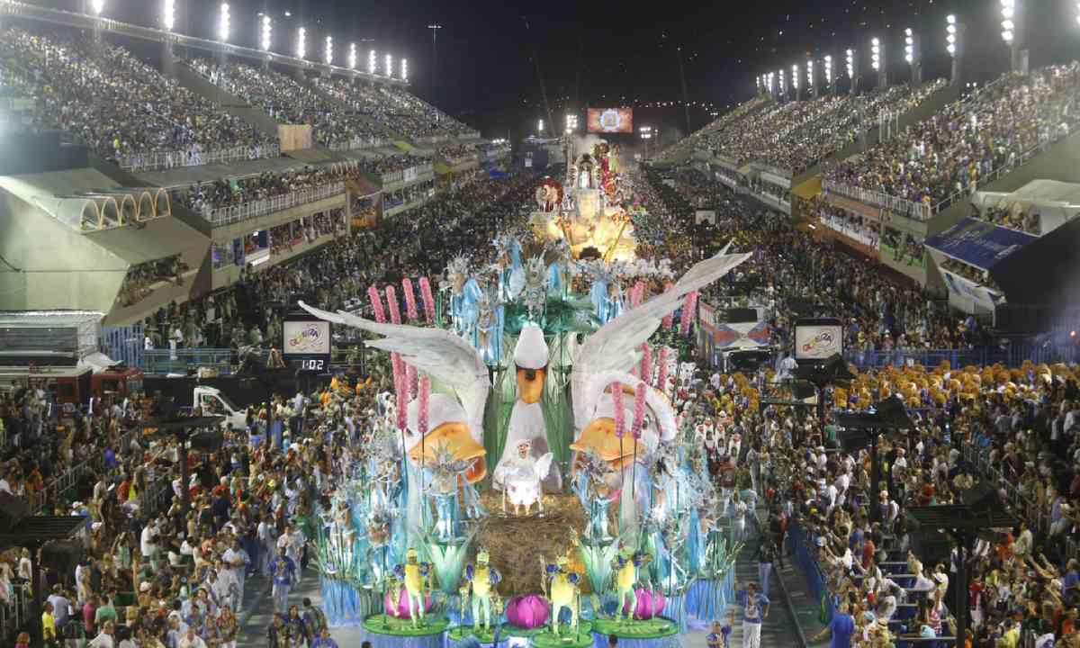 Samba School Parade, Rio (Shutterstock)