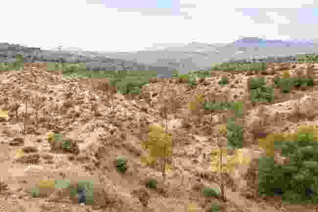 Semi-arid landscape near Almería (Shutterstock)
