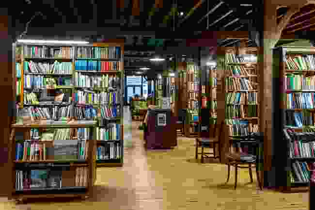 King Richard Booth's bookshop, Hay-on-Wye (Shutterstock)