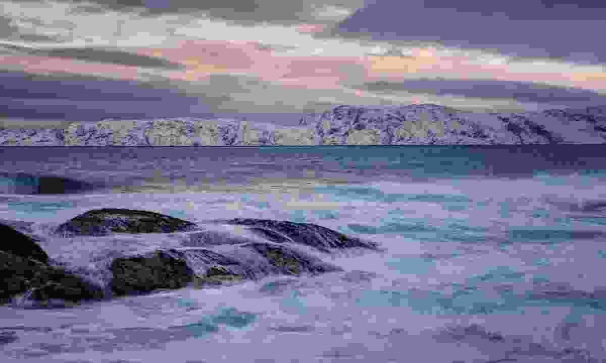 Sunset over the Baret Sea (Shutterstock)