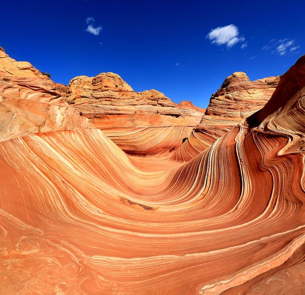 If you like this, try... Paria Canyon to Vermilion Cliffs Wilderness (Utah to Arizona). Set off from Wire Pass trailhead to check out the weird and wonderful rock formations such as The Wave.