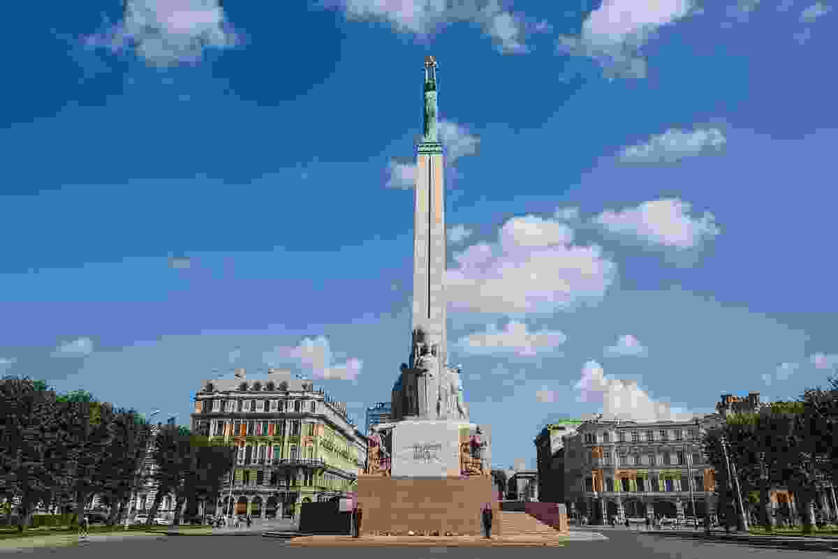 The Freedom Monument honours Latvian soldiers who fell during the War of Independence (Dreamstime)