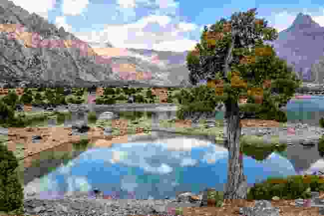 Kulikalon lakes, Tajikistan (Dreamstime)