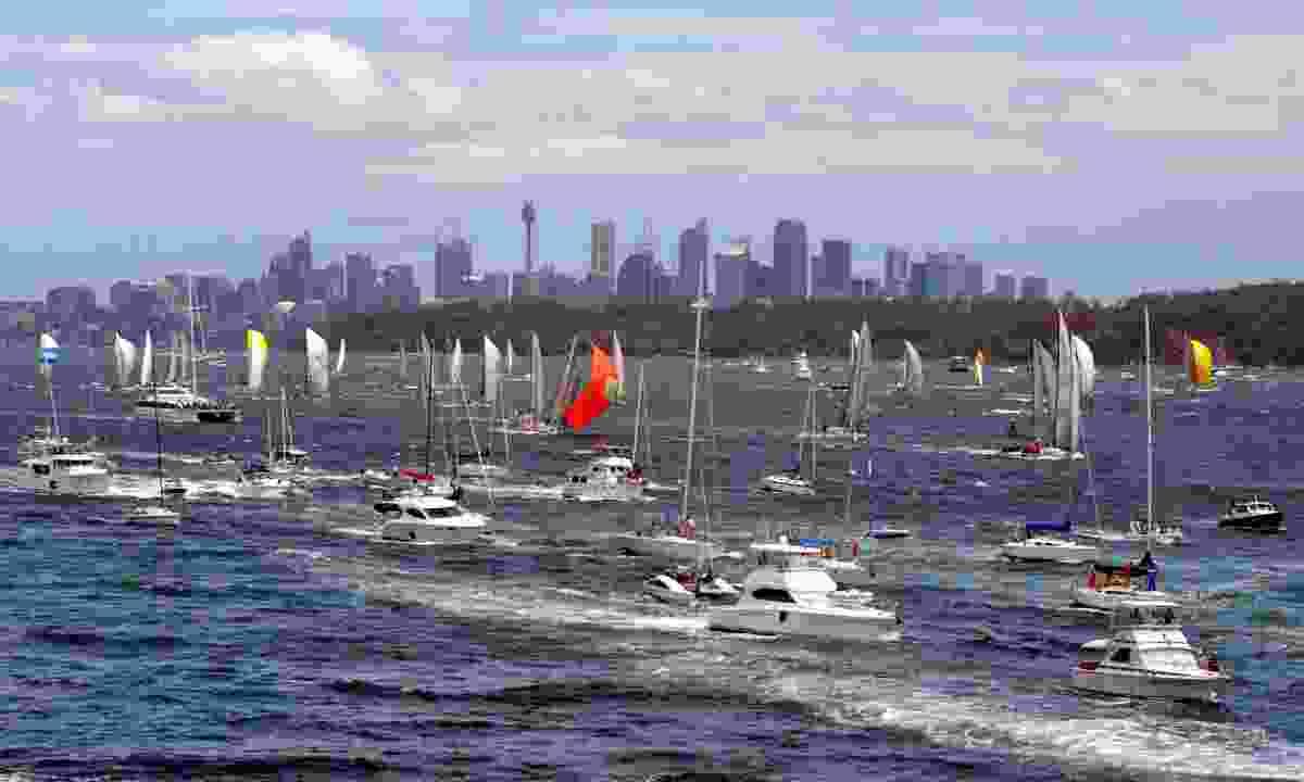 Sydney Hobart Yacht Race (Dreamstime)