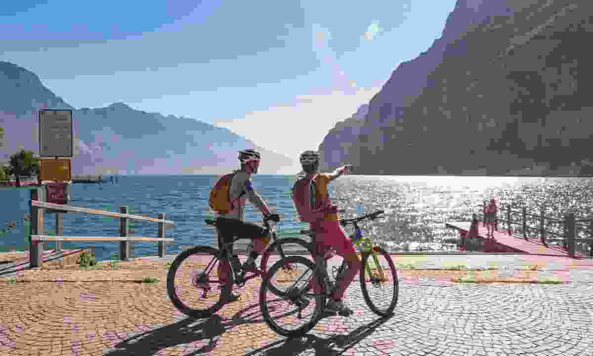 Explore the backroads of Garda Trentino by bike (Jennifer Doohan/ Garda Trentino S.P.A.)