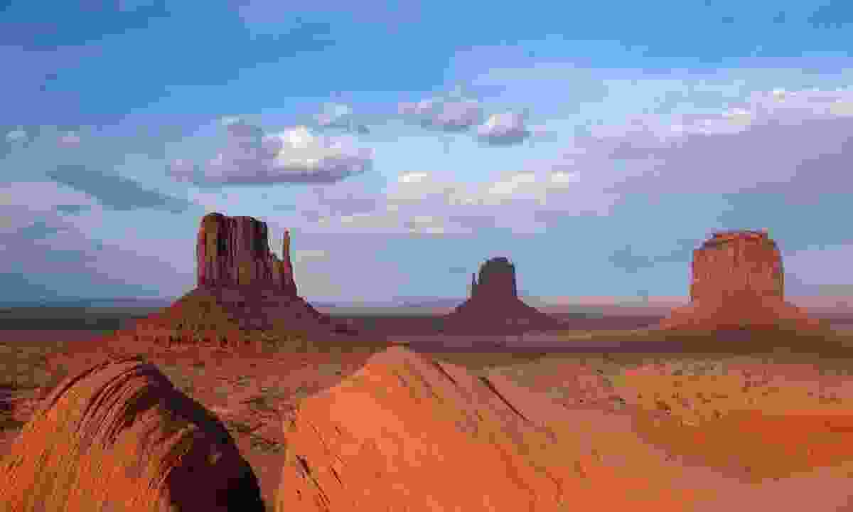 Take a Jeep tour of Monument Valley led by a local Navajo guide, where you can learn about the Native American heritage of the region (Robert Riberia)