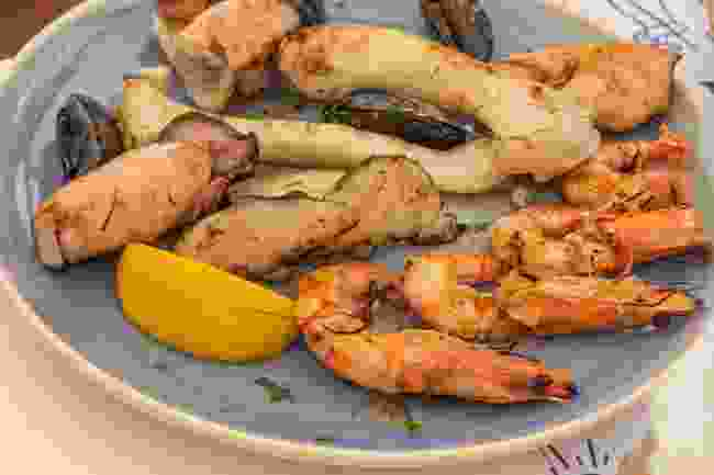 Seafood is particularly delicious in Albania (Shutterstock)