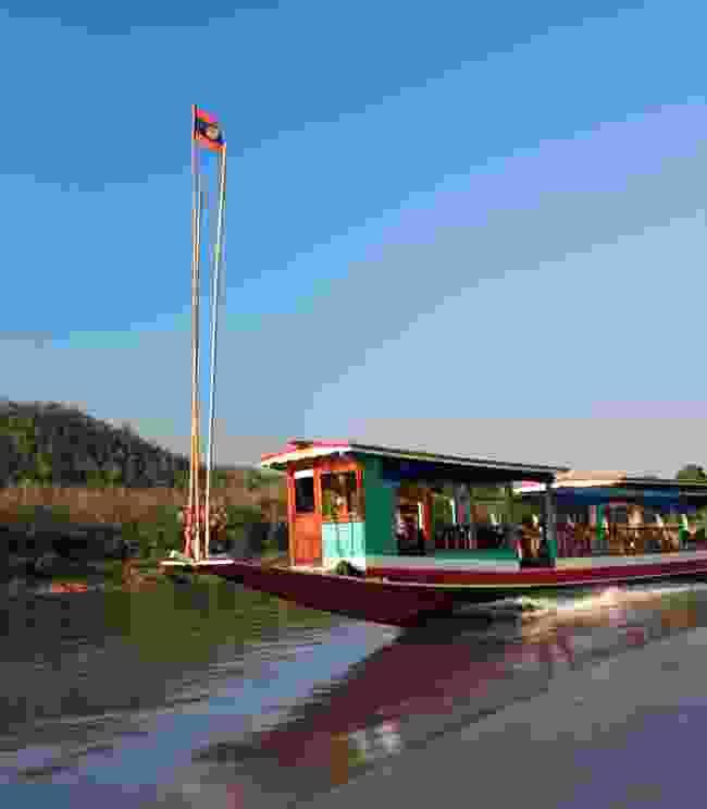 Slow boat between Chiang Khong and Luang Prabang (Shutterstock)