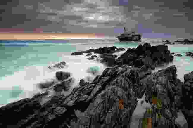 A shipwreck at Cape Agulhas (Shutterstock)