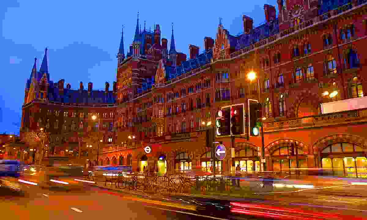 St Pancras International (Dreamstime)