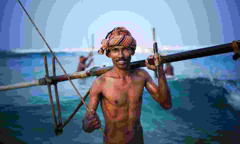 Fisherman in Sri Lanka (Shutterstock)