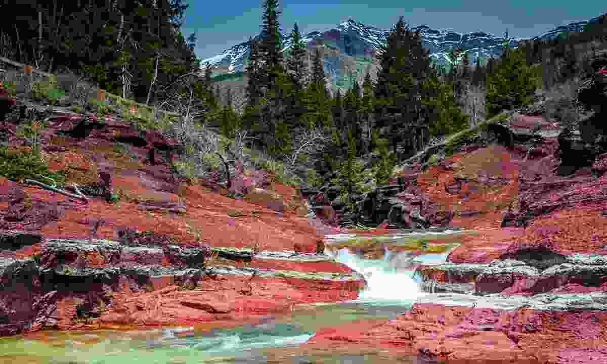 Red Rock Creek near Vimy Peak (Shutterstock)