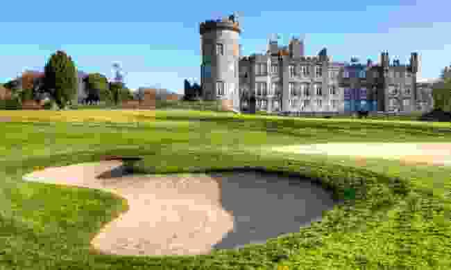 Golf course at Dromoland Castle (Shutterstock)