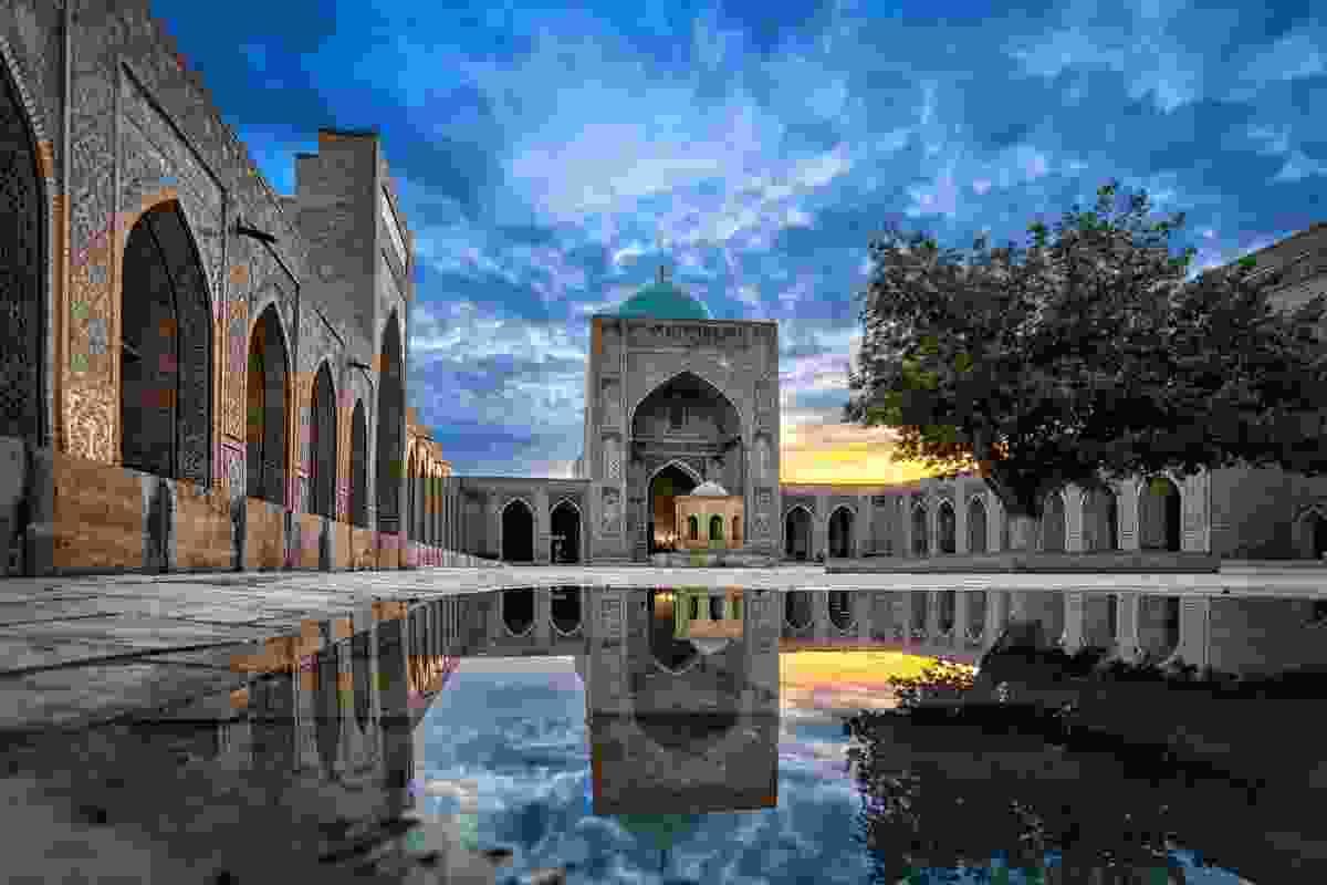 Kaylan Mosque, Burkhara, Uzbekistan (Dreamstime)