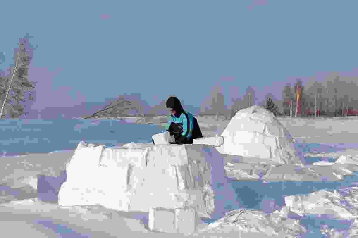 Igloo building. (Dreamstime)