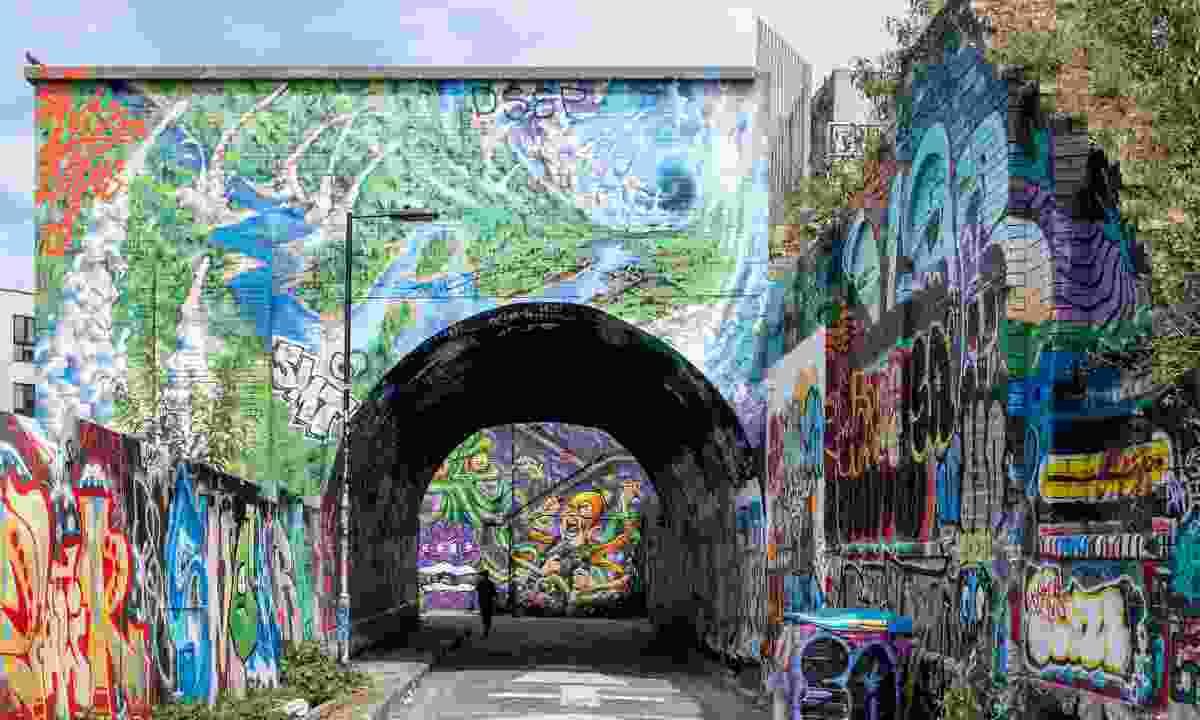 A bridge near Brick Lane (Dreamstime)