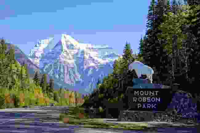 The entrance to Mount Robson Park, Canada (Shutterstock)
