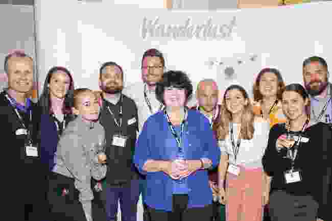The Wanderlust team's obligatory group shot (Victoria Middleton)